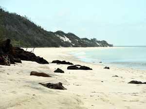 Closed waters near Fraser Island