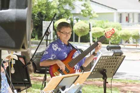 Camillo Lanzafame plays for Summer Tunes in Queens Park. Sunday Jan 8, 2017.