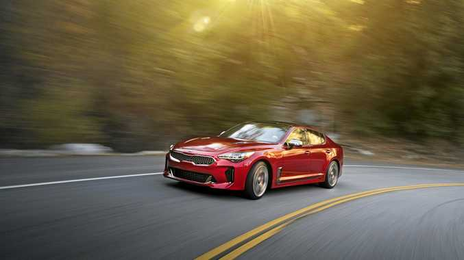 The Kia Stinger GT will arrive in the third quarter this year.