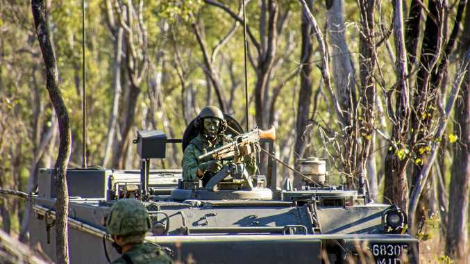Camp Growl visit at the Shoalwater Bay Training Area which is planned for expansion by the Australian Government.