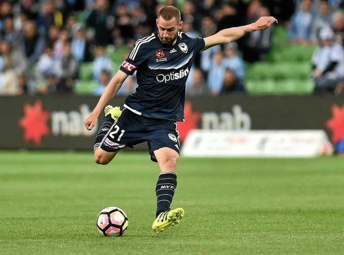 Melbourne Victory captain Carl Valeri.