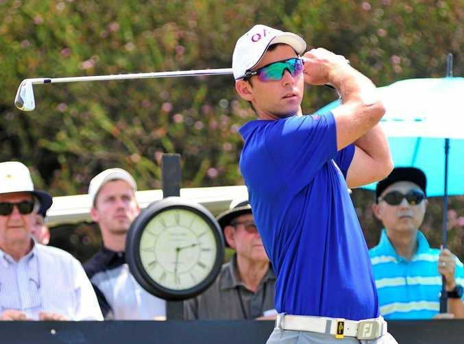 IN ACTION: Charlie Dann at the Australian Master of the Amateurs in Melbourne.