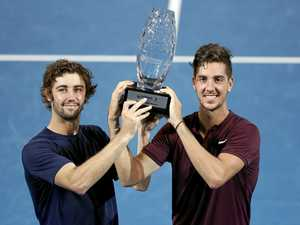 Kokkinakis not getting carried away by doubles win