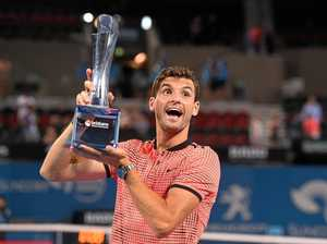 Dimitrov breaks drought at Brisbane International