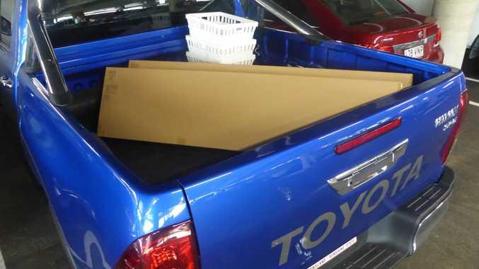 Ikea trip in long term test 2016 Toyota HiLux SR5.
