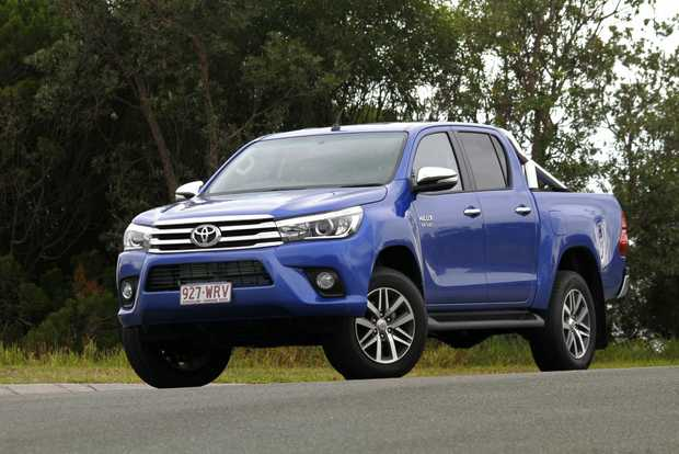 FAMILY TRUCKIN': Our test Toyota HiLux SR5 is being evaluated as an everyday driver, family transport, practical hauler and off-road adventurer. Is it really all things to all people?