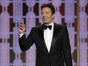 Jimmy Fallon's Golden Globes glitch