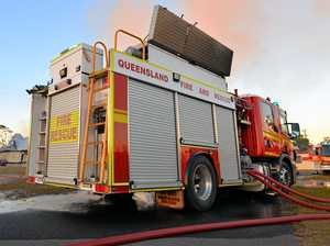 Angle grinder behind Thangool house fire, say police