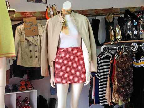 Repeat Offenderz sells pre-loved, high-end clothes on consignment.