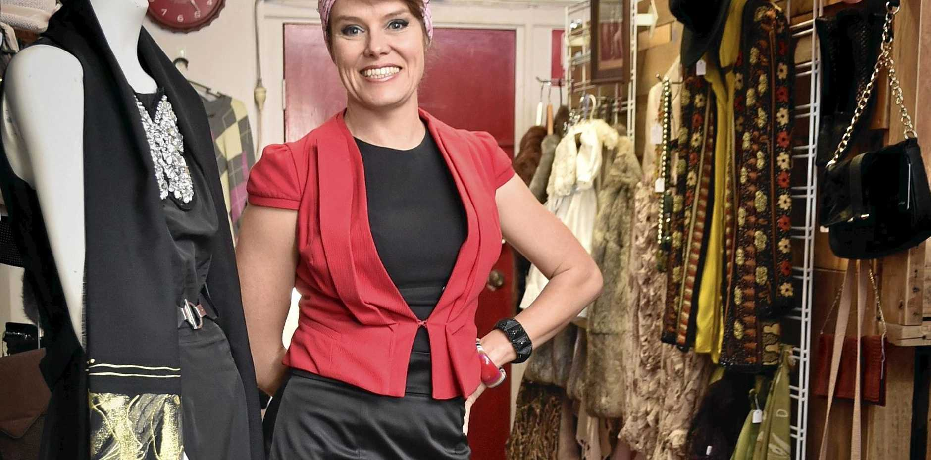 END OF ERA: Repeat Offenderz owner Rachel Bailey is selling the store to launch a wardrobe styling consultancy called Savvy Measures.