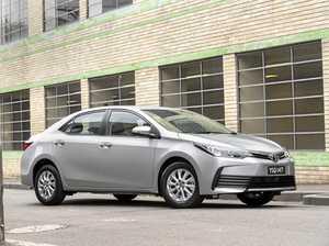 The 2017 Toyota Corolla sedan