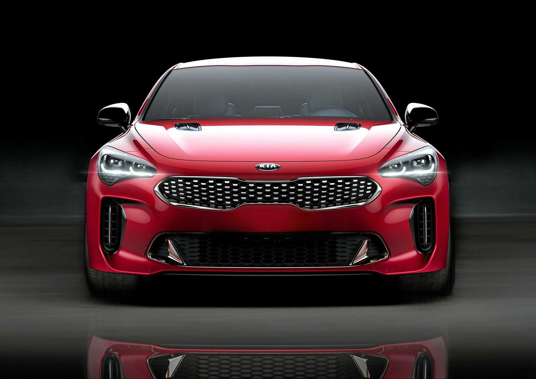 Kia is about to officially unveil the Kia Stinger GT.