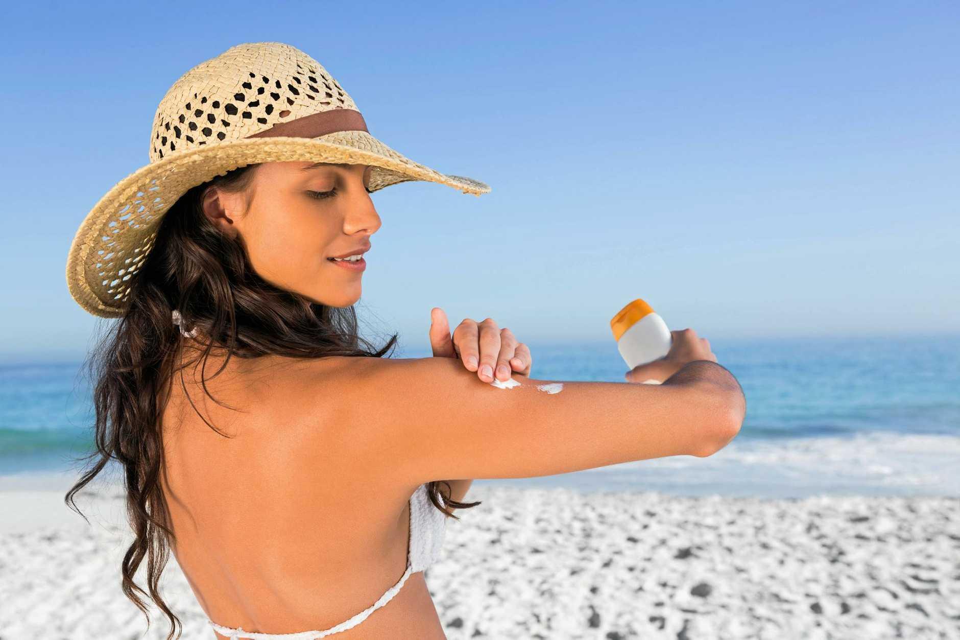 Stay sun smart, use sunscreen.