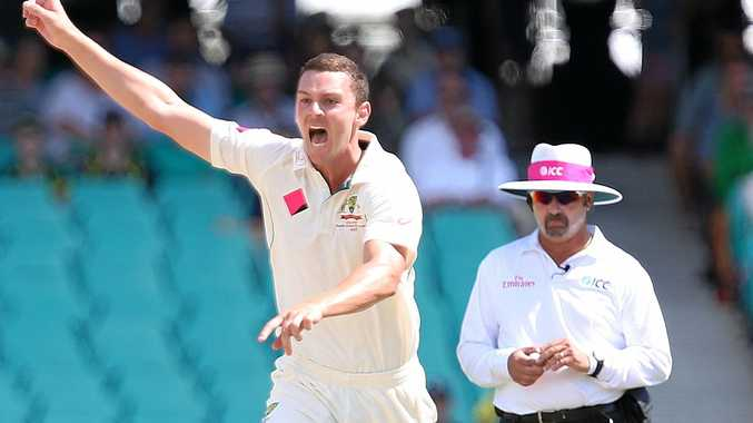 Josh Hazlewood is the top-ranked fast bowler.