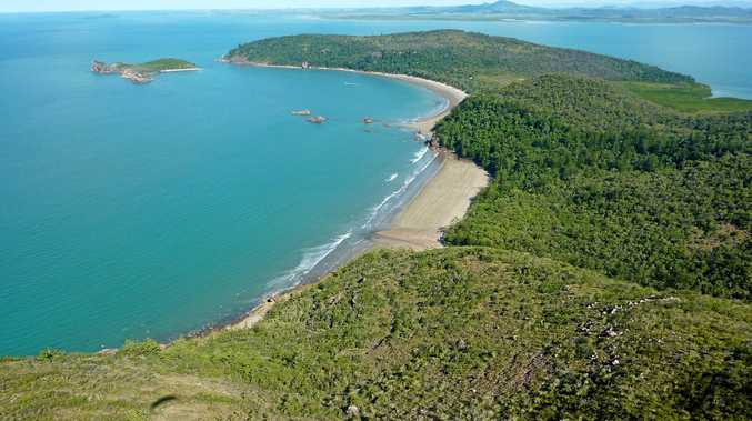 Tim Carhart took this photo while paragliding over the top of Cape Hillsborough.