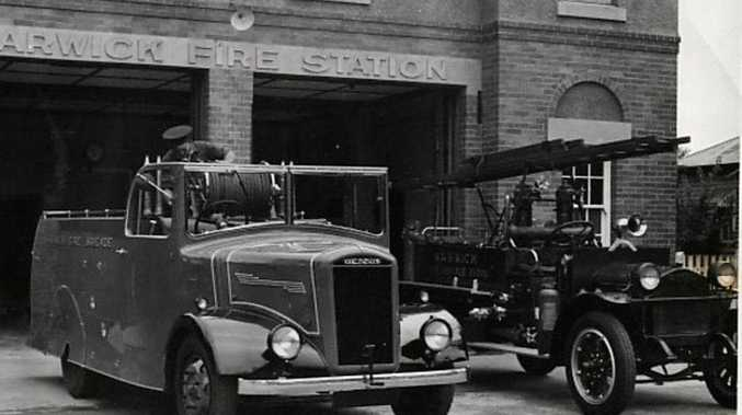 PROUD PAST: The old Warwick fire station, pictured in the 1940s, served the Warwick community with distinction for more than 60 years.