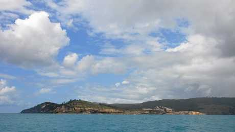 Middle Percy Island off the Mackay coast