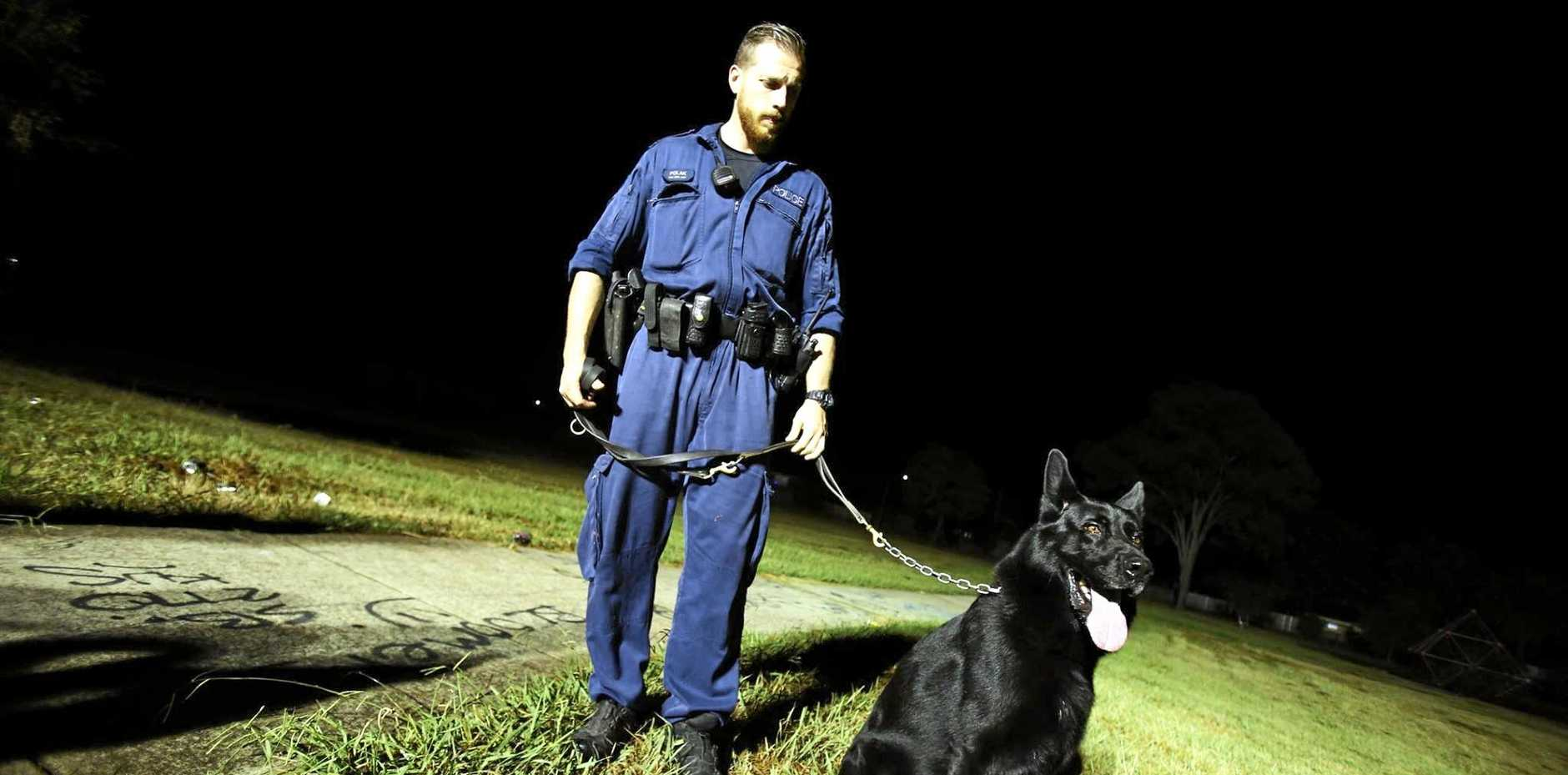 File photo: NSW Police dog unit.