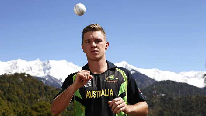 TOP OF THE WORLD: Adam Zampa took more wickets in ODIs in 2016 than any other bowler in world cricket.
