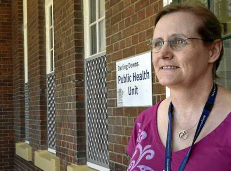 Darling Downs Public Health Unit director Dr Penny Hutchinson explains meningococcal disease after a case was diagnosed in he city last week. January 2017