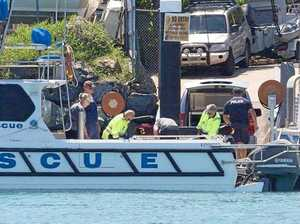 Crew departs from Rosslyn Bay in search for missing man
