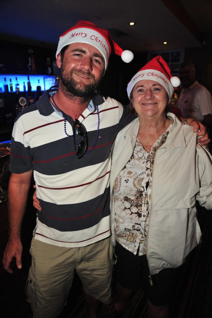 Trent Anstee and his mum Helen.