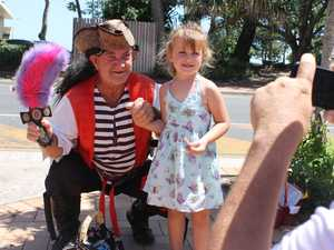 LOCAL HERO: The witty pirate who raises money for local kids
