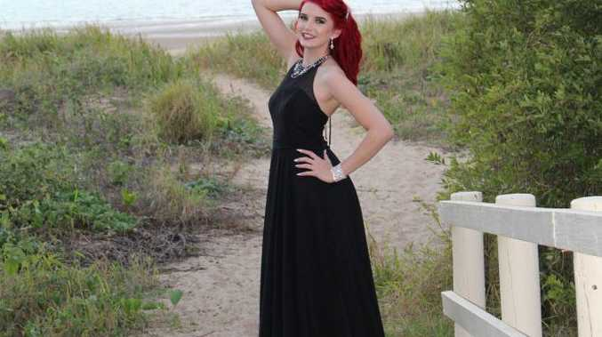 17-year-old Hervey Bay girl Jesse Heldens is a national finalist of the Miss Galaxy 2017 competition.