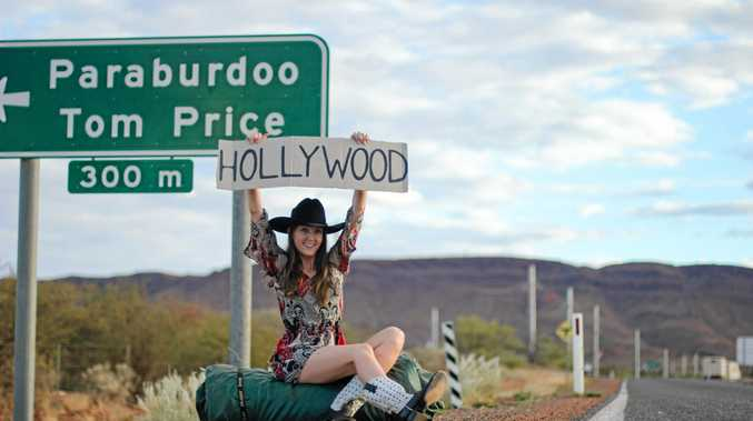 STEPPING OUT: Kader Boot Co owner Kara Lauder, who lives in the Pilbara, will visit Hollywood this year during Oscar week to show the stars her children's boot design.