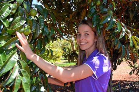 Zoe Young at Ohana Winery.