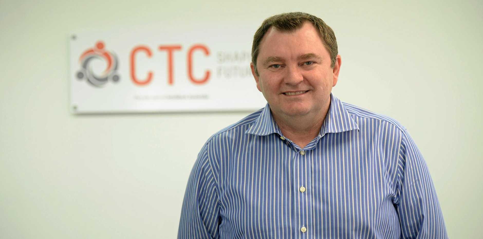 CTC general manager Darryl Lapworth.