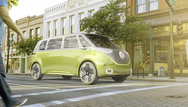 The I.D. BUZZ from Volkswagen has gone on show at the North American International Auto Show (NAIAS) in Detroit.