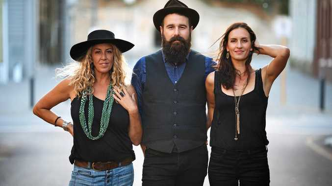 ARIA award winning band The Waifs.