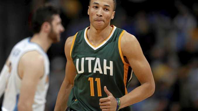 Utah Jazz guard Dante Exum is struggling for form.