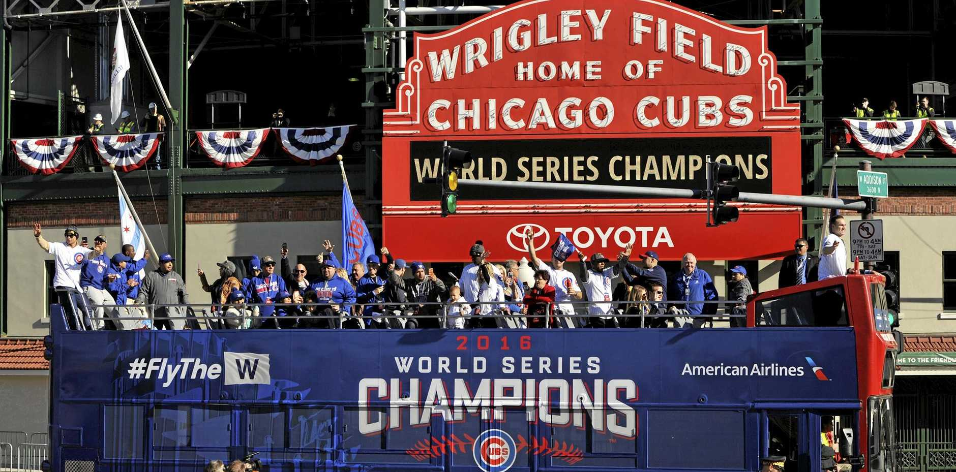 CHEATED: A businessman who defrauded the World Series-winning Chicago Cubs has been sent to jail for 18 months.