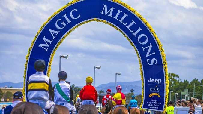 Magic Millions racing carnival at the Gold Coast Turf Club