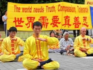 Falun Gong links within Harmony society