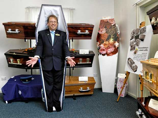 Reed and Bottcher Funerals Ipswich location manager Paul Whear