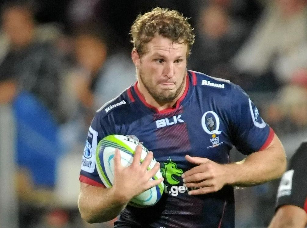 SUPPORT COMING: James Slipper will get help from the Queensland Reds' wealth of experienced recruits.