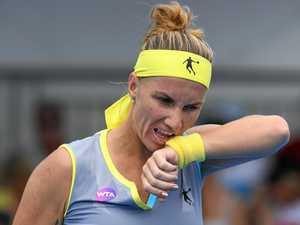 Pavlyuchenkova bundles Keznetsova out of Sydney International