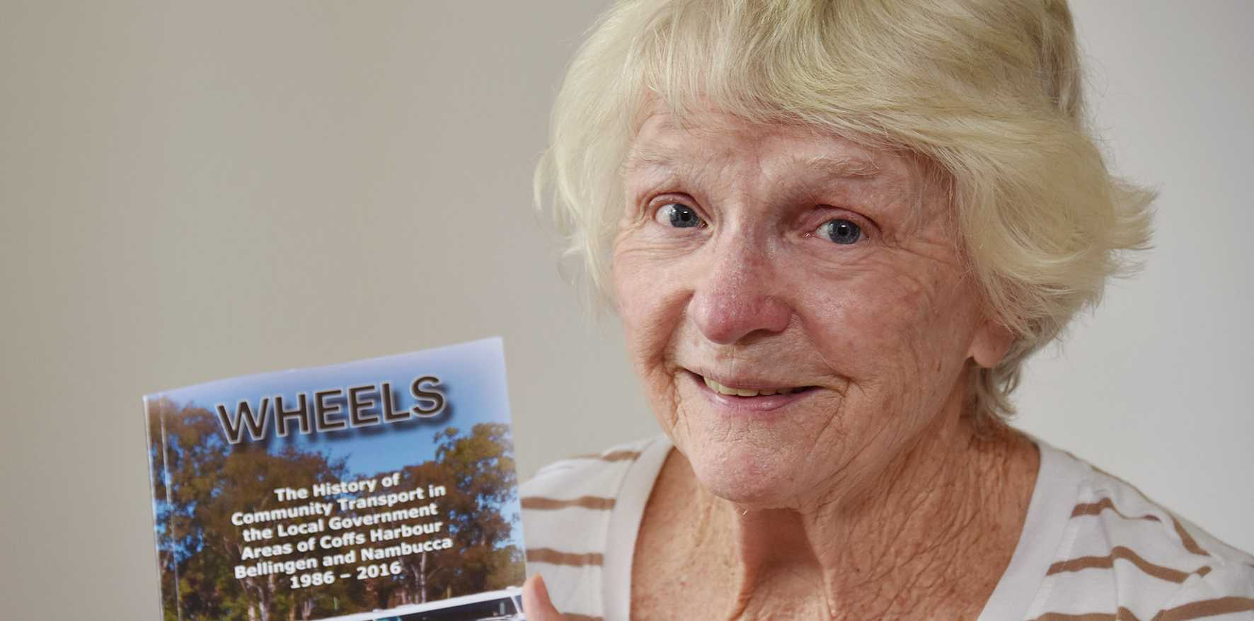 Coffs Harbour resident Marie Gordon has spent the past 25 years helping the elderly and disabled get out and about.