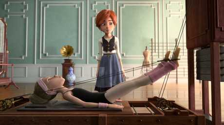 A scene from the movie Ballerina.