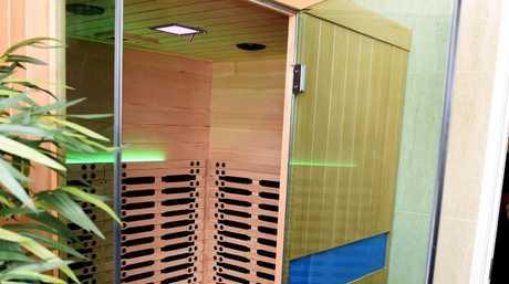 Hervey Bay - Mind Body and Soul owner Trevor Studt, has installed an infrared sauna.