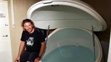 Hevrey Bay - Mind Body and Soul owner Trevor Studt, has installed a Float tank.