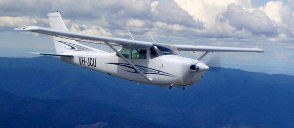 Scenic flights over the Toowoomba Region.