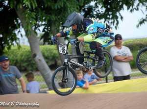Prossie BMX duo races in top series