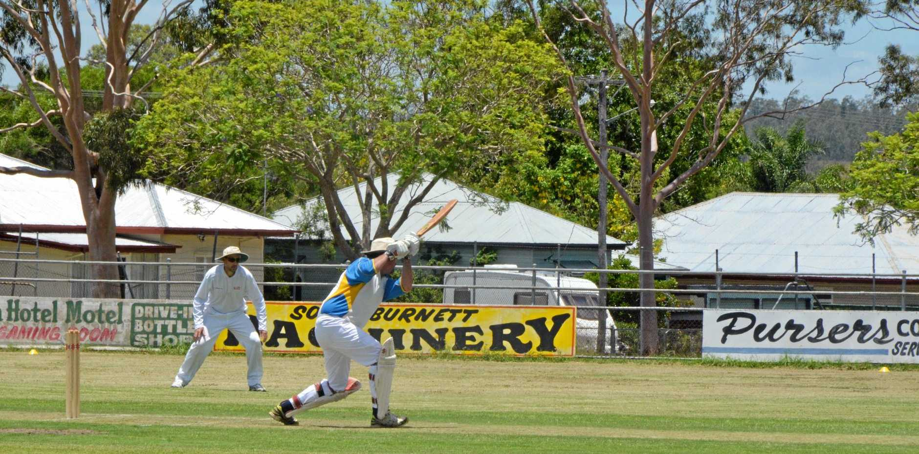 VETERAN: Jamian Curran has drafted an invitational Burnett side to contest the Goldfield Ashes competition.
