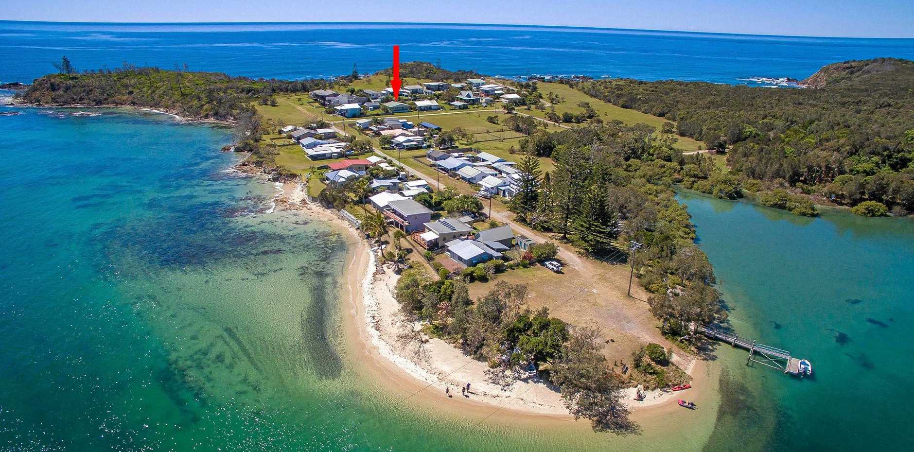 PICTURE PERFECT: Surrounded by National Park, the isolation of this Sandon house, up for sale, just adds to the appeal.