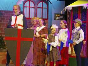 Pantomime transforms Yandina School of Arts stage