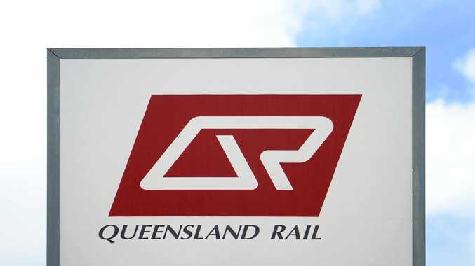 QR sign Photo Allan Reinikka / The Morning Bulletin